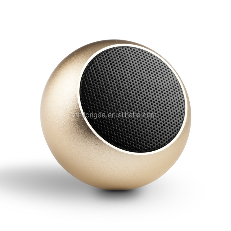 High Quality Premium Superior Wireless Metal Outdoor Bluetooth Speaker Mini Music Stereo Ibastek Bluetooth Pair-able Wireless Ba