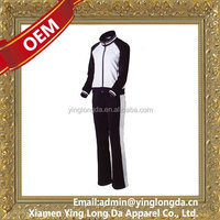 Bottom price latest waterproof team track suit