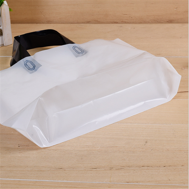 HDPE Material Customized Recycled Packing Loop Handle Bag