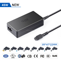 UL 45W AC Laptop Charger Automatic Voltage Power Adapter 11 Tips for HP Dell Toshiba IBM Lenovo Acer ASUS Samsung