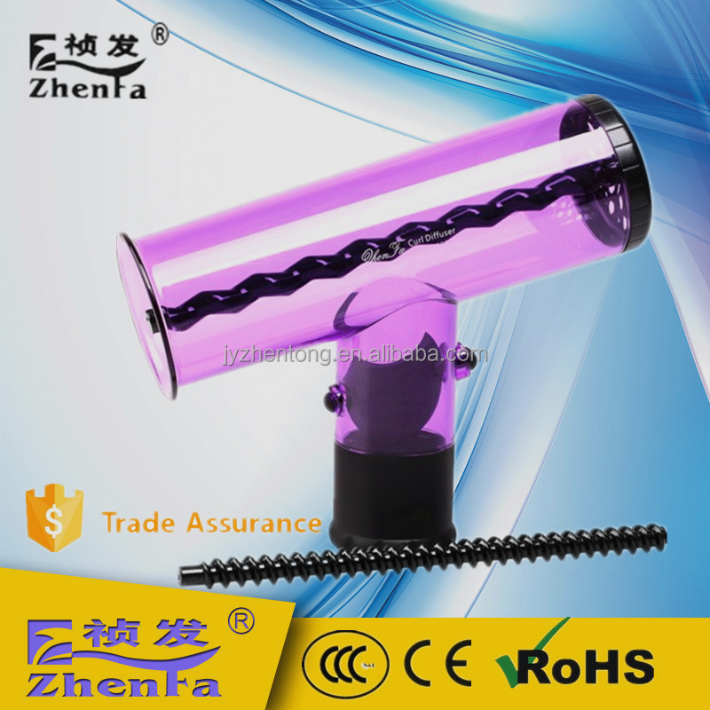 2017 Good quality plastic hair curler for home use ZF-2003