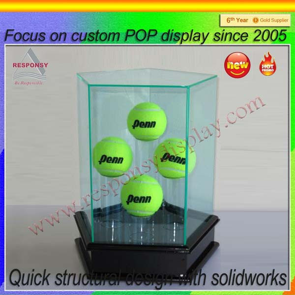 Durable China golf ball display cabinet furniture