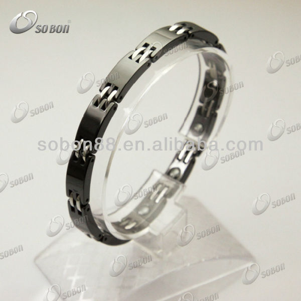 factory magnetic ceramic bracelet with titanium negative ions