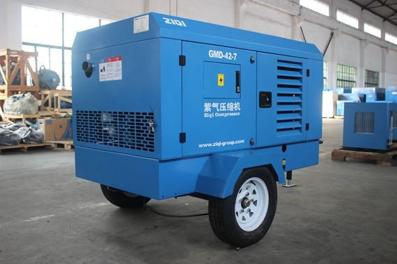 ingersoll rand diesel portable air compressor