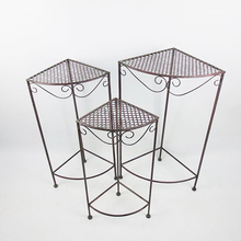 hot selling and good quality Decor Metal Corner Plant Stand Display Table