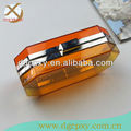 New acrylic clutch box bag octagon shape
