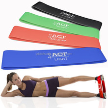 Wholesale Colorful Rubber Fitness Stretch Resistance Loop Mini Exercise Bands