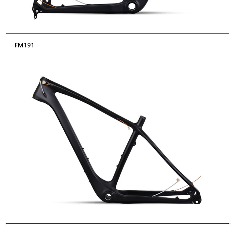Baolijia New Design Chinese Carbon Fat Bike Frame FM191