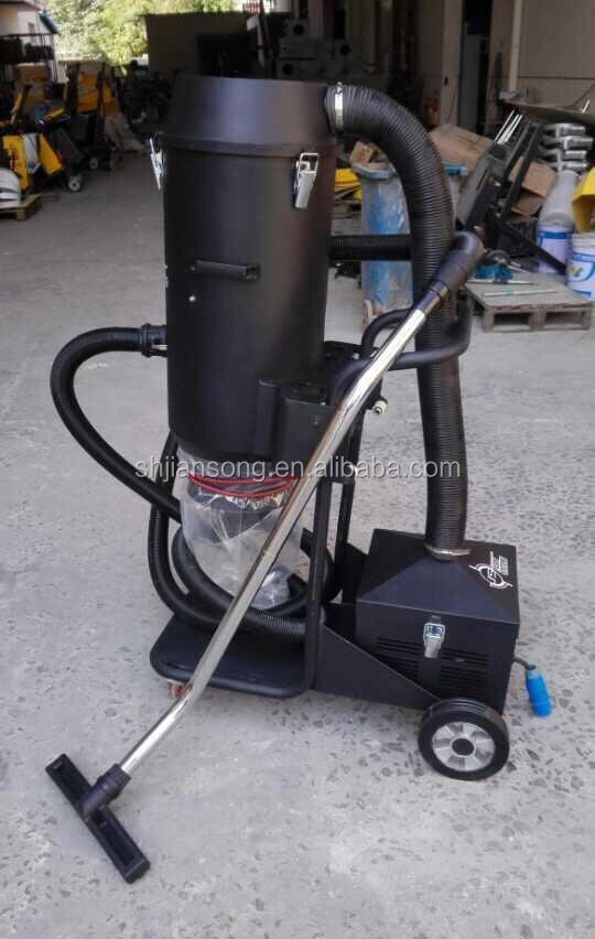 Concrete diamond floor grinder with a dust collector for Cleaning concrete dust