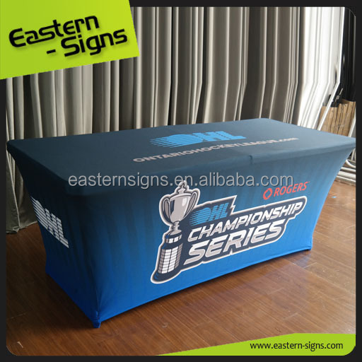 Customized Logo Promotional Trade Show Desk Table Cloth