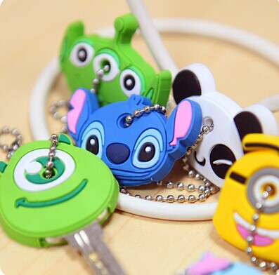 customised lovely soft pvc keychain with cheap price