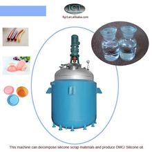 machine for Pyrolysising rtv 2 silicone rubber