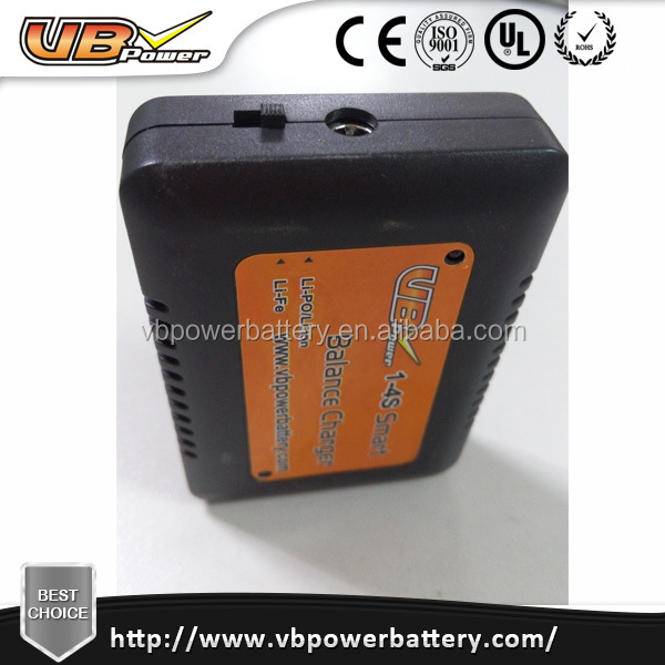 Airsoftgun battery charger 1-4s Smart Balance Charger lipo/li-ion/li-fe 3.7V 7.4V 11.1V battery charger