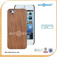 wholesale price 100% real natural rose wooden for iphone 5c cell phone back cover case