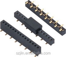 high quality 1.27mm single row smt type female header with cap wholesale