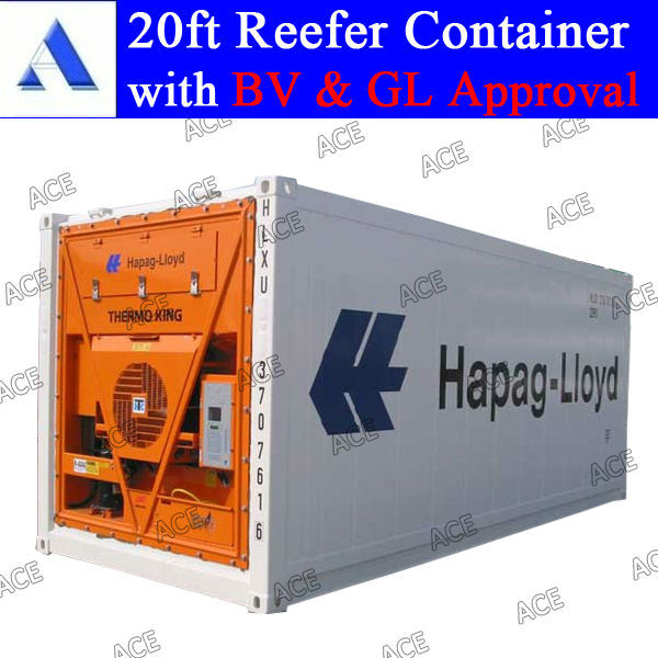 10ft 20ft 40ft reefer containers for sale with BV GL approval