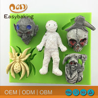 Halloween costumes bulk food grade silicone rubber molds