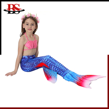 With Monofin Mermaid Tail For Swim Swimsuit Bikini Kids Swimwear Best Mermaid Tail Swim Monofins For Sale