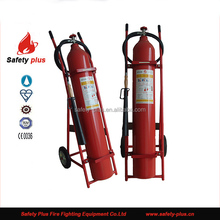 good prcie trolley co2 30kg fire extinguisher with CE approved