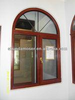 Wood arched window- Aluminum clad wood windows