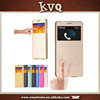 Electric Pressed Flip Leather Case Cover for Samsung Galaxy S4 with window