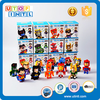 Hot sale ABS building block mini figure chain block toys