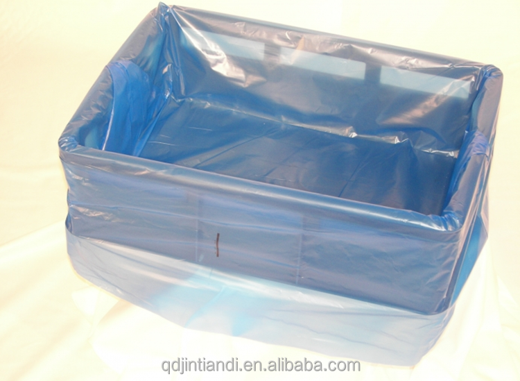 Qingdao JTD Manufacture Wholesale Custom Polythene box& tray liners
