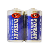 Eveready General C Size Battery 2 Pack