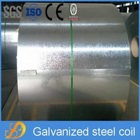 Metal building material of hot dipped galvanized steel coil ISO Certificate