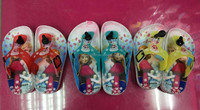 frozen slippers big hero 6 beach shoes spiderman bath slippers flip flops