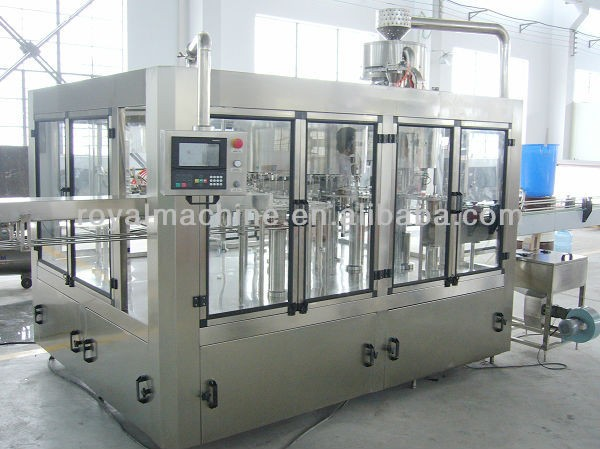 glass bottle making machine for soft drink
