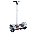 China hoverboard 10 inch 2 wheel hoverboard with bluetooth remote controller electric scooter with handlebar