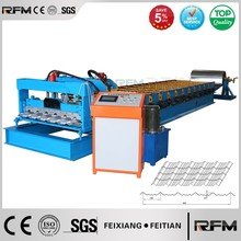 automatic metal glazed tile roll forming machine manufacturer