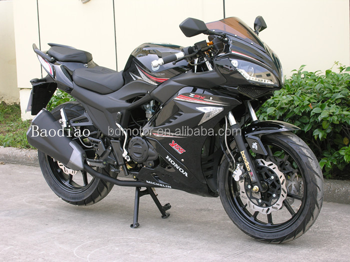 Super Cool Racing Sport Motorcycle150cc For Sale Four Stroke Engine Motorcycles Wholesale Baodiao Manufacture EEC EPA DOT
