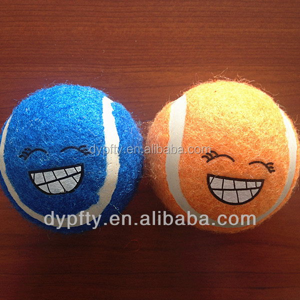 squeaky ball dog toys smiling ball dog toys