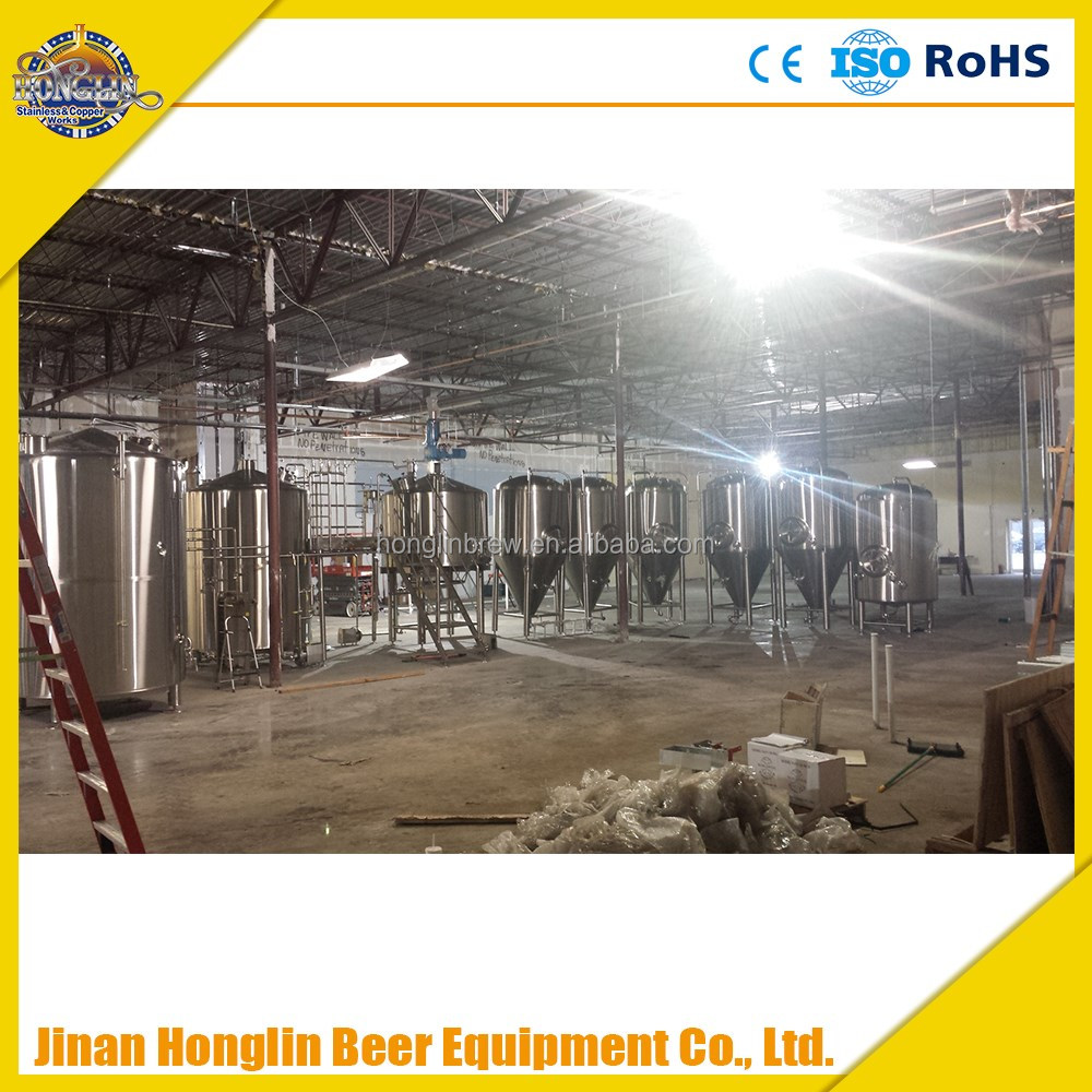 SUS 304 industrial beer brewery equipment,beer plant used micro brewing equipment beer brewhouse equipment