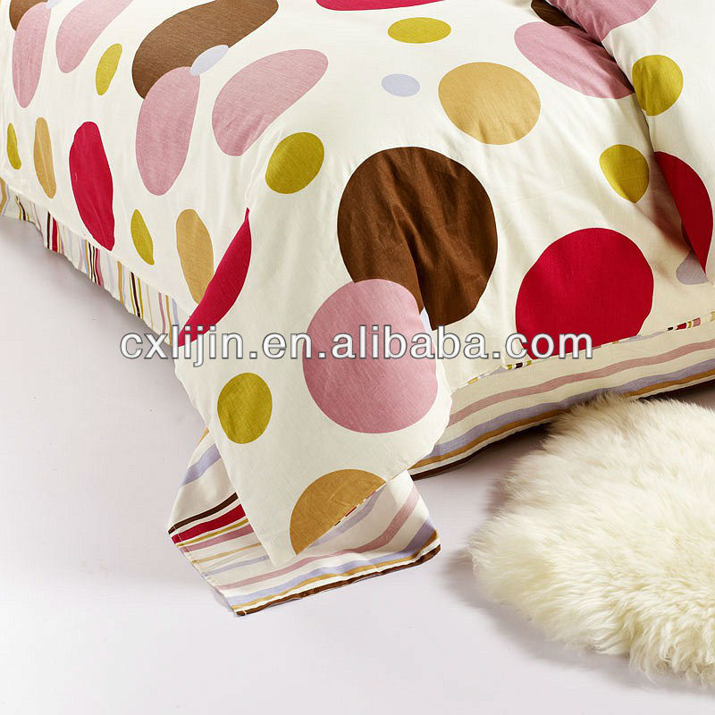 Mircrofiber 100 polyester brushed fabric with flora pigment printing for home textile/polyester fabric