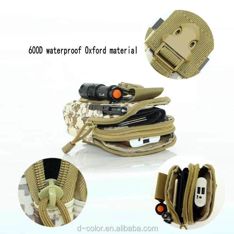 Colorful Tactical bag mini outdoor tactical waist bag on sell Molle waist bag