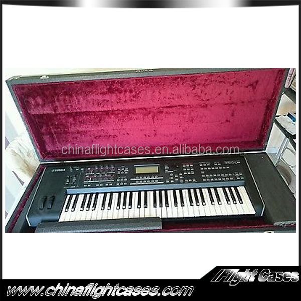cheap hard flight case keyboard flight case for Yamaha Mox6 keyboard