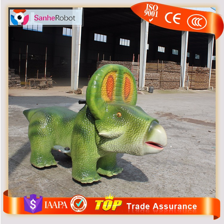 Distinctive kids indoor playground dinosaur toy kids car electric