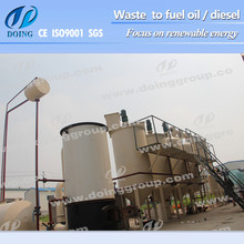 Used engine oil to diesel essential oil distillation equipment