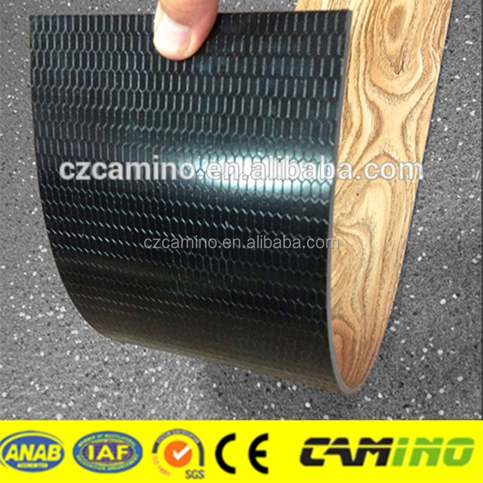Hot selling non-slip glueless 5mm thickness loose lay vinyl floor plank