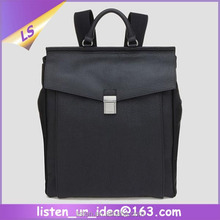 Korean Vintage Casual Cowhide Leather Men Travel Backpack