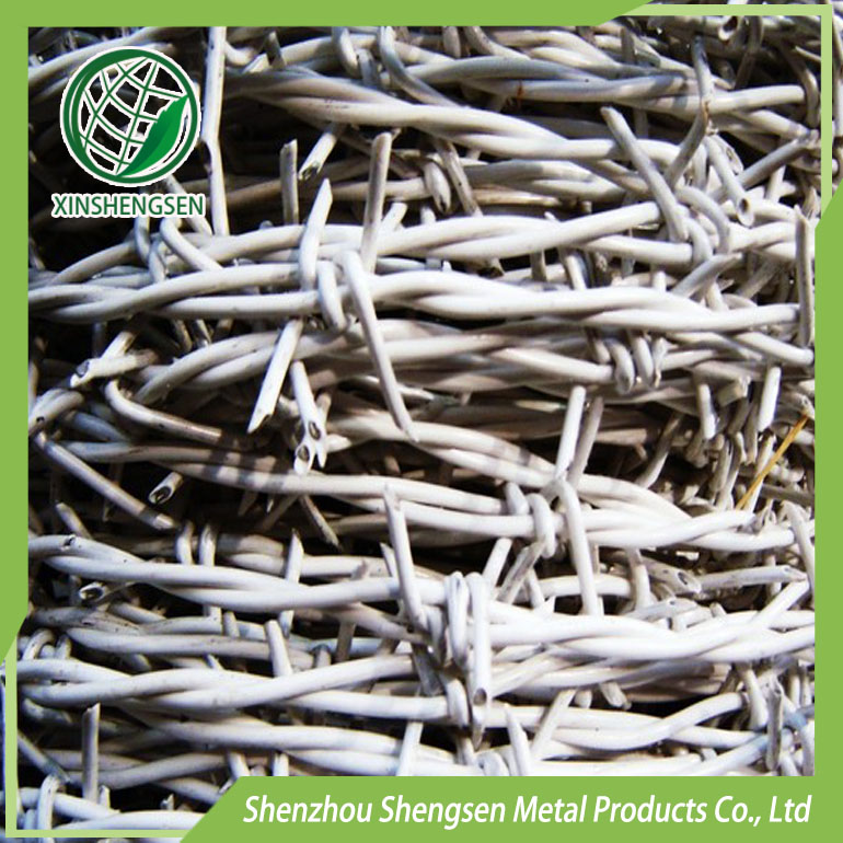 hot-dipped galvanized barbed wire plant price