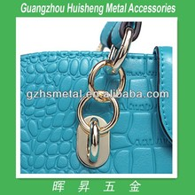 Fashion high quality fancy high end handbag hardware