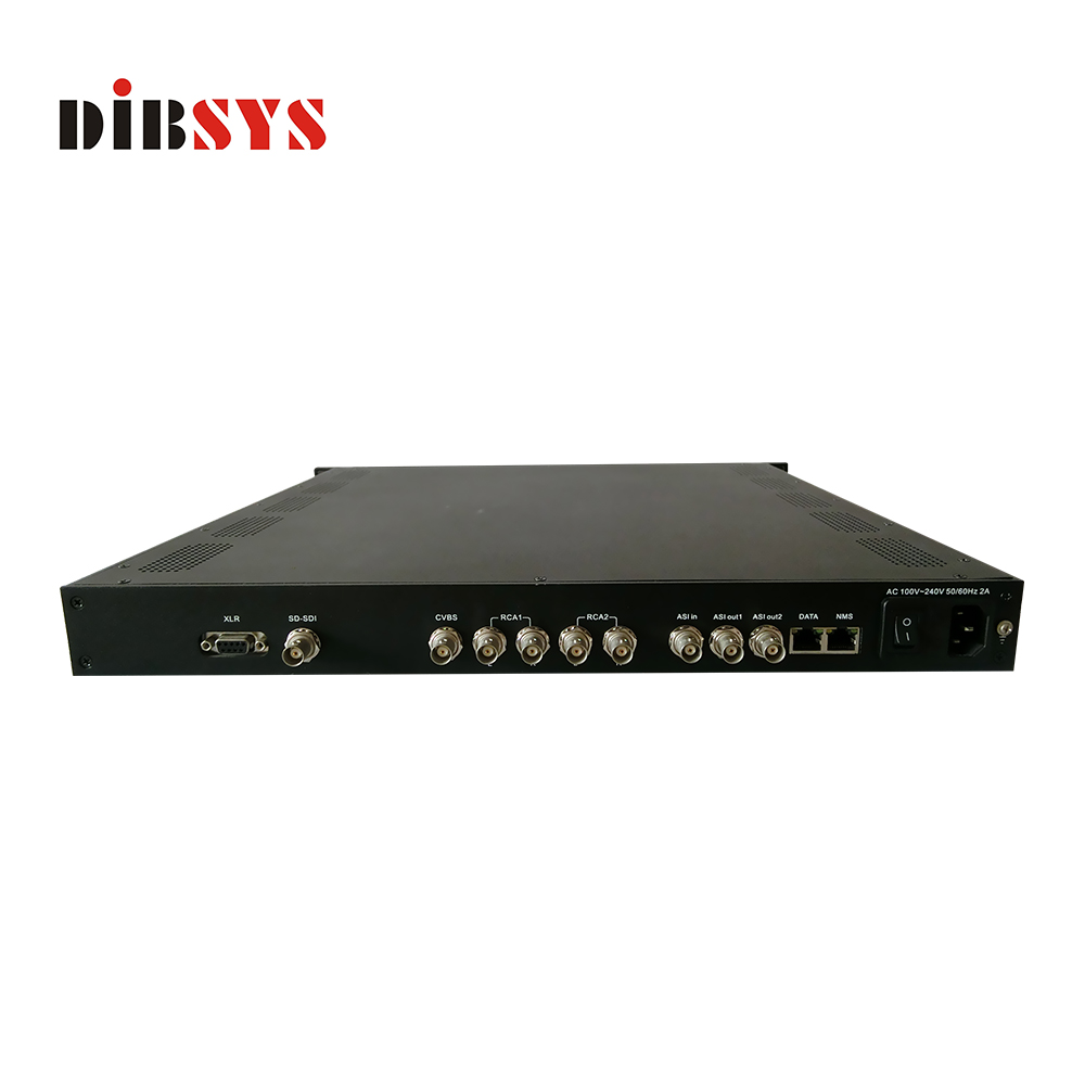 2 stereo audio magnum SD MPEG-2/H.264 ip Encoder ASI for isdb-t modulator/transmitter