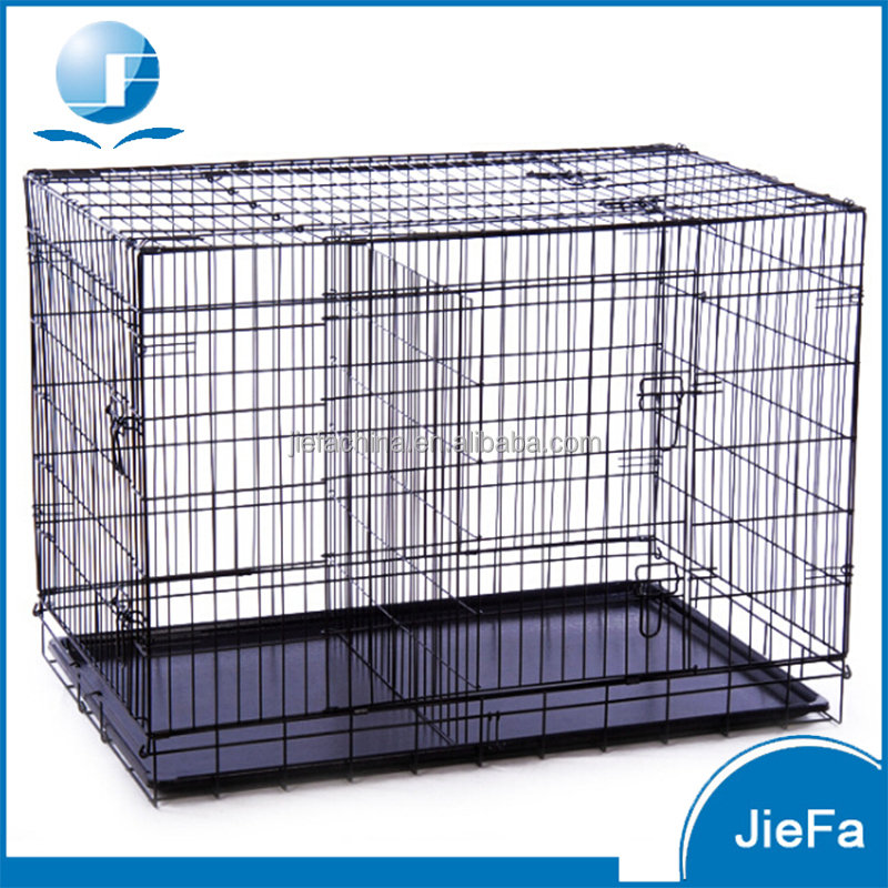 XXL Stainless Steel Bird Cage / hot sale folding metal pet cage dog crate