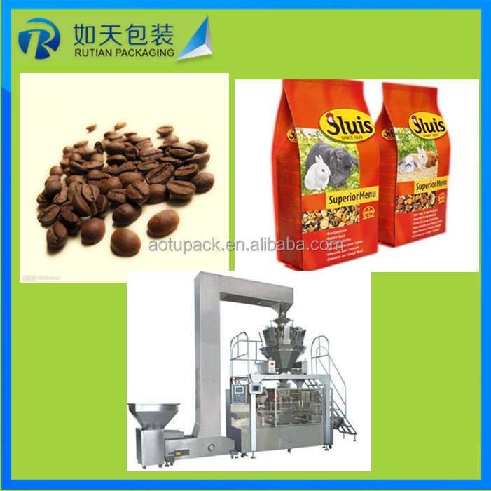 beef biltong stand up zipper bag packaging machine