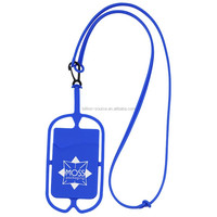 New products 2016 innovative product phones silicone lanyard case cover holder