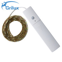 Intelligent battery powered light strips ribbon lights motion detector led strip with competitive price